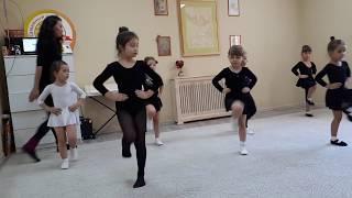Ирландские танцы Открытый урок младшая группа