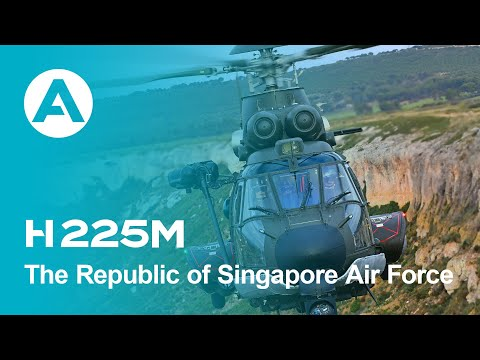 Acceptance of the Republic of Singapore Air Force's H225M helicopter