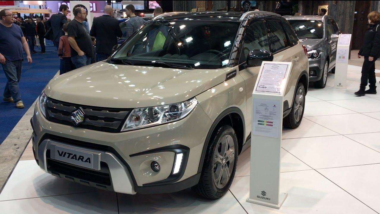 Suzuki Vitara 2017 In Detail Review Walkaround Interior Exterior