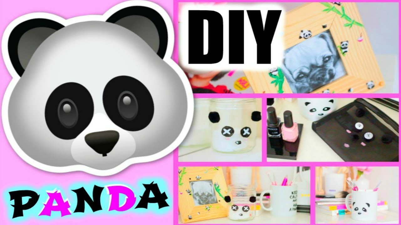 DIY Facile : Panda Deco Chambre / Room Decor (français