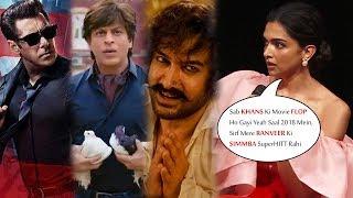 Deepika Padukone REACTS On SRK, Salman Khan, Aamir Khan FLOP Movies