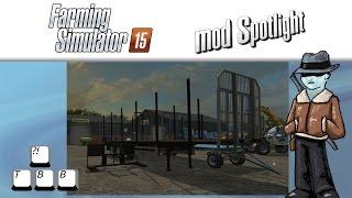 Farming Simulator 15 Mod Spotlight - Lumber!