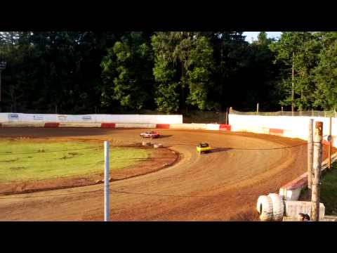 River City Speedway - St. Helens Oregon 06/15/2013 4 Cylinder B Main