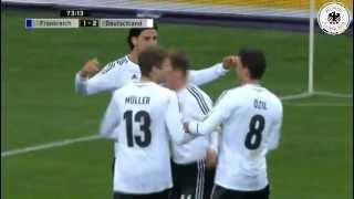 Frankreich - Deutschland 1:2 (Testspiel 2013)