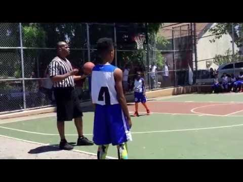 Kyrie Irving Rod Strickland Summer Basketball League Opening Day 2016 SBiddies2