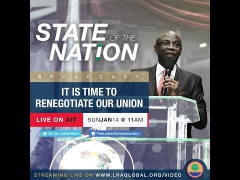 State of The Nation Broadcast | Pastor 'Tunde Bakare