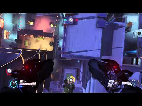 Overwatch Glitches - Lijiang Tower - Reaper Exploration Out Of Map - 12/02/16