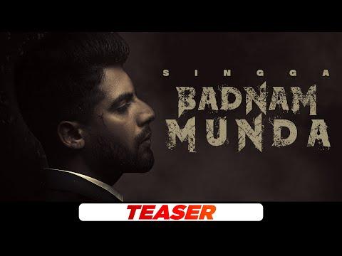Singga | Badnam Munda (Teaser) | Young Army | Sukh Sanghera | Latest PunjabiTeasers2021