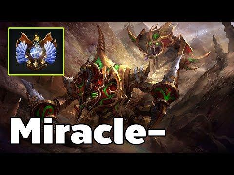 Miracle - Sandking Roaming Rank MMR Game