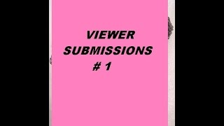 VIEWER SUBMISSIONS # 1