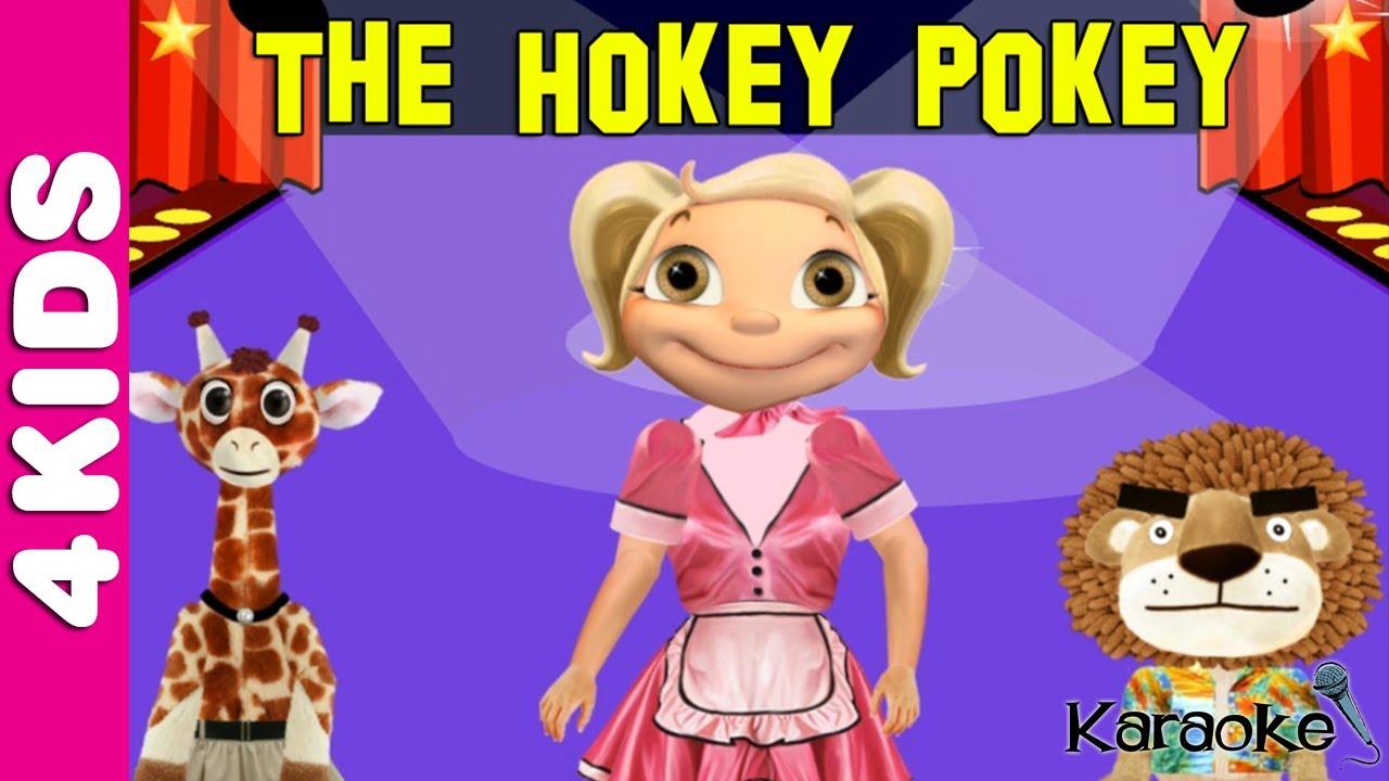 The Hokey Pokey Song Nursery Rhymes | Karaoke | JUNIORS ...