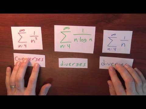 Does sum 1/(n log n) converge? - Week 3 - Lecture 10 - Sequences and Series