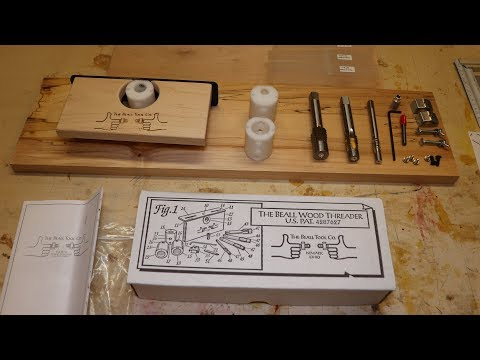 Threading Wood Parts, Beall Wood Threader Kit Setup And First Use.