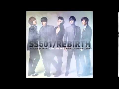 """4th Mini Albúm """"Rebirth"""" SS501 ( 더블에스오공일)"""