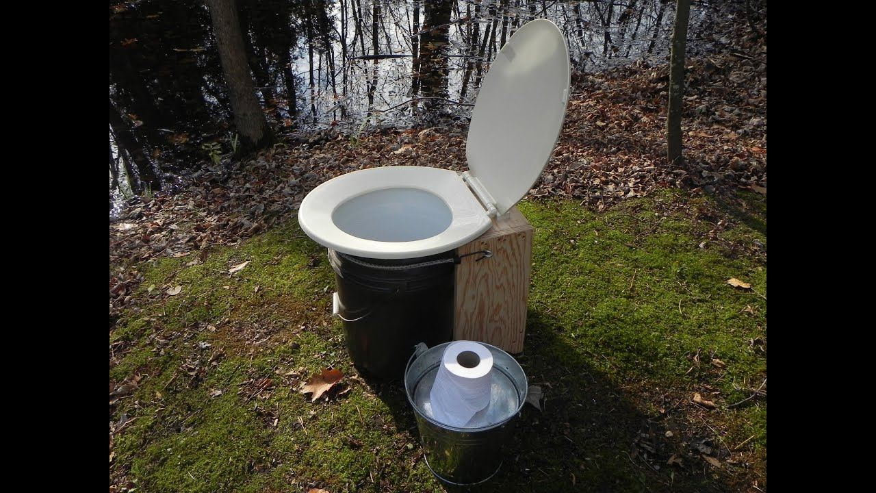 Do It Yourself Simple Composting Toilet Youtube