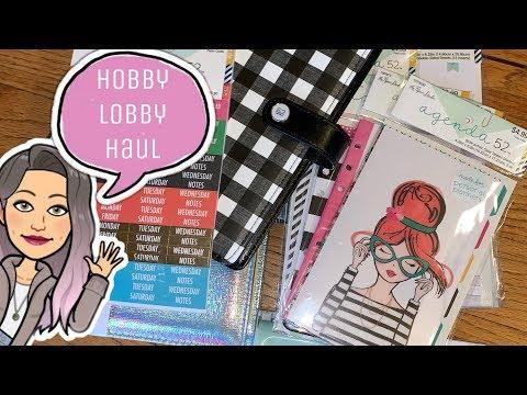 Hobby Lobby Haul!