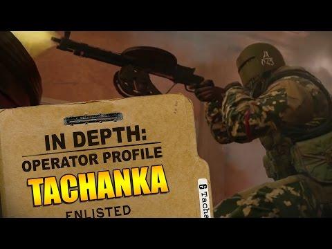 Rainbow Six Siege  Operator Profile: TACHANKA