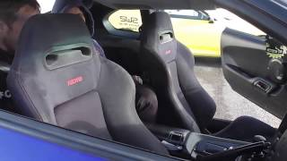 Toyota Supra Seat Race!