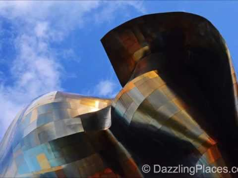 Part One of Two Videos about the Exterior of Seattle's Experience Music Project Museum
