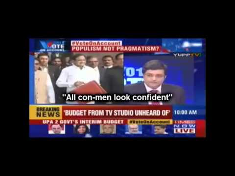 """Dr.Swamy uncovers P Chidambaram on Arnab Show - """"All conmen look confident"""""""