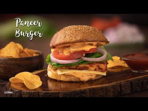 paneer-burger- -paneer-recipes- -veg-burger