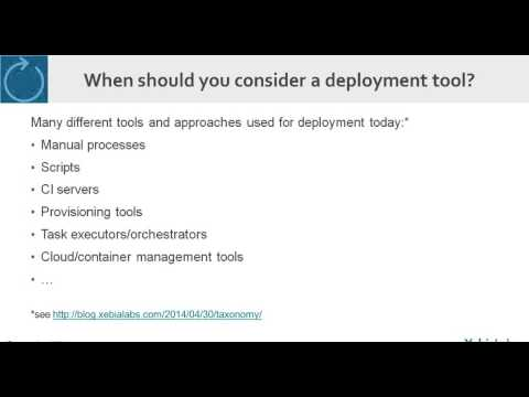 What is a deployment automation tool and how can it help me
