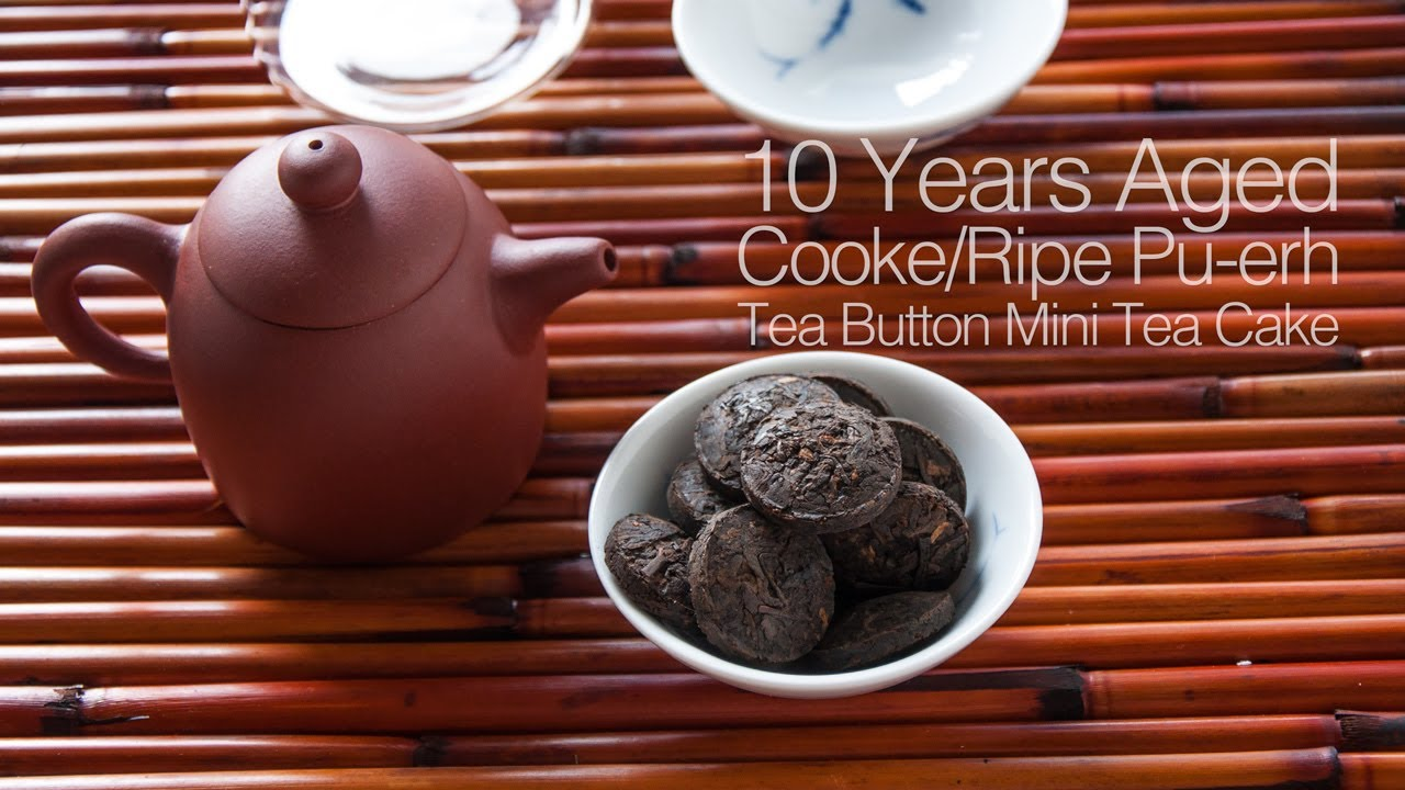 Pu Erh Steep 10 Year Aged Shu Tea On Ripe Cooked With Yixing Purple Clay Teapot