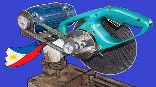 Diy External Motor for Broken Chop Saw