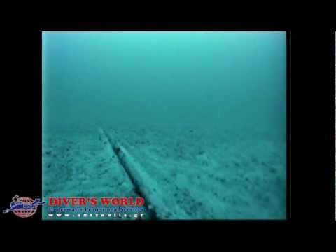 Inspection of underwater cable with ROV  - DIVER'S WORLD - Antzoulis