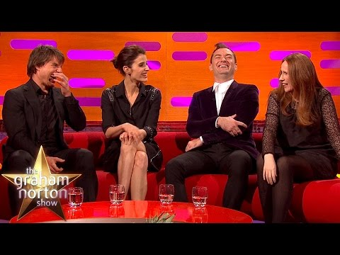 Catherine Tate Shows Off Her Potty Mouth to Tom Cruise - The Graham Norton Show