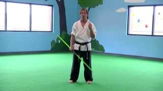 Kids Karate: Bo Staff Combo Upgrades