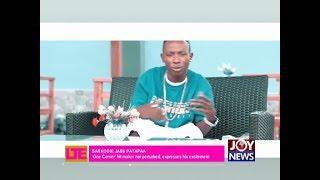 Sarkodie Jabs Patapaa - Let's Talk Entertainment on JoyNews (22-2-18)