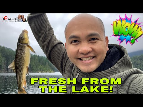 ONE OF THE BEST LAKES FOR FISHING IN B.C., CANADA