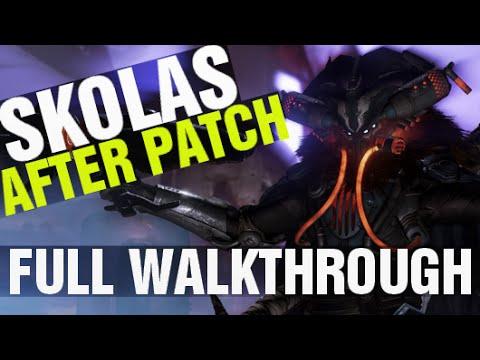 "Skolas's Revenge AFTER PATCH Full Walkthrough Destiny ""Prison of Elders"" Level 35 Arena"