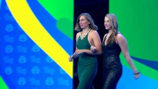 Olympic Team Introduction | 2016 Golden Goggles Award Show