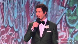 Andy Samberg Monologue - 2013 Independent Spirit Awards