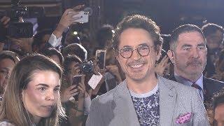 Avengers Infinity War Singapore Premiere - Robert Downey Jr, Benedict Cumberbatch, Karen Gillan