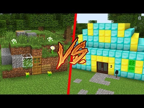 1 TL EV VS 1.000.000 TL EV! 😱 - Minecraft