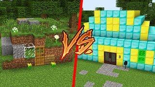 1 TL EV VS 1.000.000 TL EV! 😱 - Minecraft