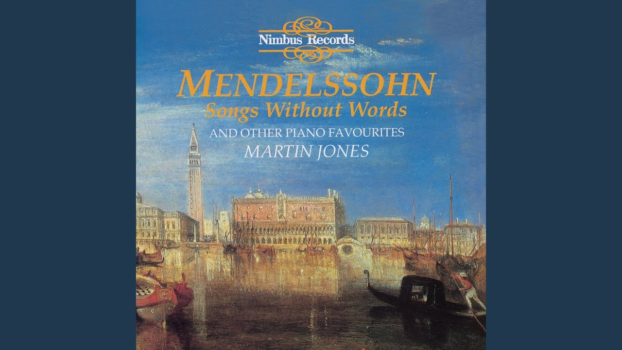 Songs Without Words, Book 4, Op. 53: No. 4, Adagio in F Major