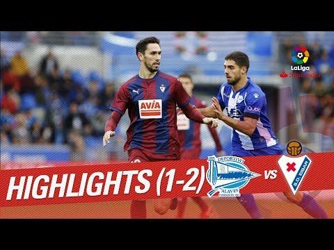 Resumen de Deportivo Alavés vs SD Eibar (1-2)