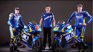 Team SUZUKI ECSTAR - THE UNVEILING