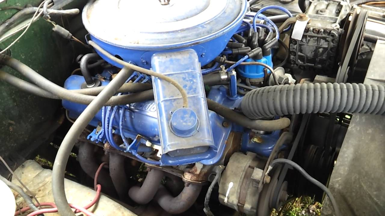 360 ford engine wiring 1974 f100 fe 360 2v right side youtube  1974 f100 fe 360 2v right side youtube