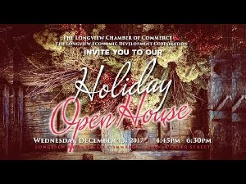 Longview Chamber of Commerce Holiday Open House 2017