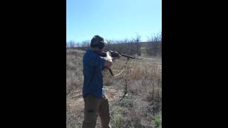 Shooting the infamous Mosin