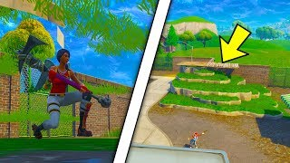 FORTNITE GLITCHES SEASON 5 - 2 NEW FORTNITE UNDER MAP WALLBREACH GLITCHES 2018