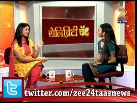 Zee24Taas- Celebrity Chat Actress Rashmi Anpat