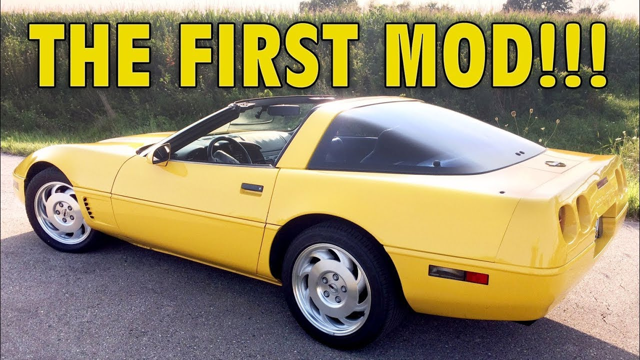 Installing the FIRST MOD on my C4 Corvette