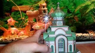 моделизм церковь из бумаги