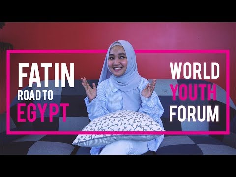 Fatin Road To World Youth Forum 2018